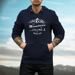 "Bluza ""MOUNTAINS CALLING"" męska"