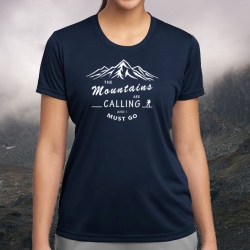 "Koszulka termoaktywna ""Mountains Calling"" DAMSKA"