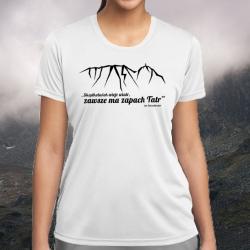 """Koszulka termoaktywna """"Skądkolwiek wieje wiatr..."""" DAMSKA"""