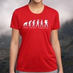 "Koszulka termoaktywna ""Homo sapiens taternicus"" DAMSKA"