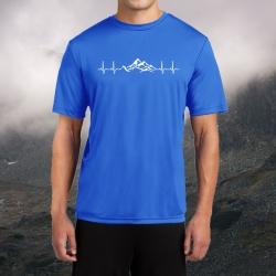 "Koszulka termoaktywna ""Górskie EKG"" MĘSKA"