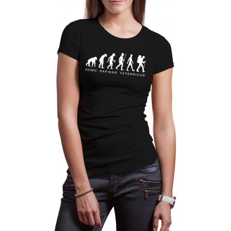 "Koszulka ""Homo sapiens taternicus"" DAMSKA"