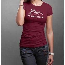 "Koszulka ""Do Góry Nogami"" DAMSKA"