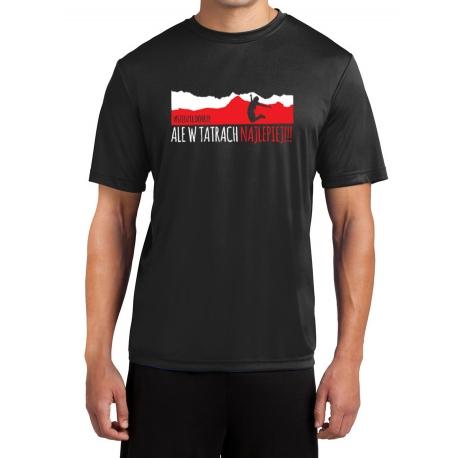 """Koszulka termoaktywna """"Wszędzie dobrze, ale w Tatrach najlepiej"""" MĘSKA"""