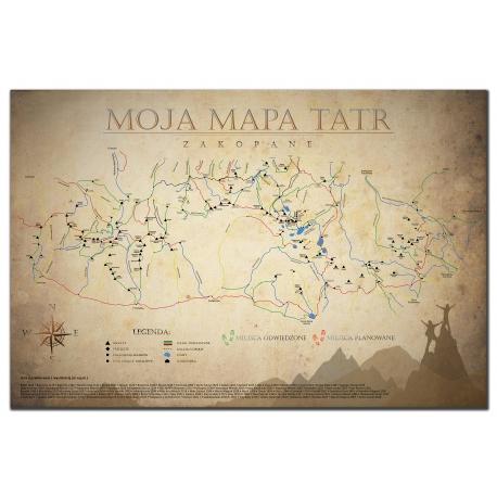 Moja Mapa Tatr Sklep Tatromaniak Pl