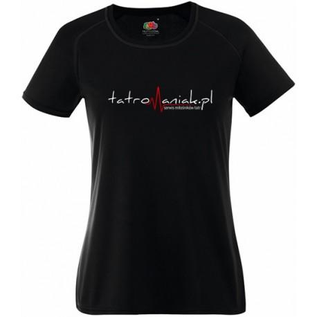 Koszulka termoaktywna z logo Tatromaniaka DAMSKA