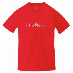 """Koszulka termoaktywna """"Górskie EKG"""" DZIECIĘCA"""