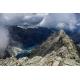 Wydruk papier foto - Widok ze szczytu Rysów