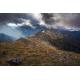 Wydruk na piance - Jesienny widok z Kasprowego Wierchu