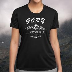"""Koszulka termoaktywna """"Góry wzywają"""" DAMSKA"""