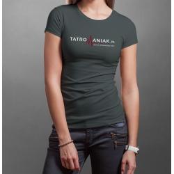 Koszulka z logo Tatromaniaka DAMSKA