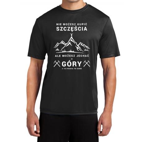 """Koszulka termoaktywna """"Góry Szczęścia"""" MĘSKA"""