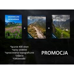 E-booki PROMOCJA (Vademecum Tatrzańskie + Przewodnik po Tatrach Polskich + Przewodnik po Tatrach Słowackich)
