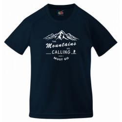 "Koszulka termoaktywna ""Mountains Calling"" DZIECIĘCA"
