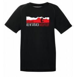 """Koszulka termoaktywna """"Wszędzie dobrze, ale w Tatrach najlepiej"""" DZIECIĘCA"""