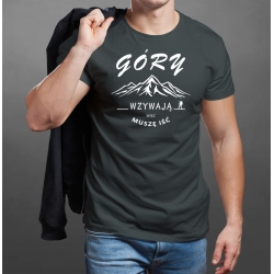 """Koszulka """"Góry wzywają..."""" MĘSKA"""